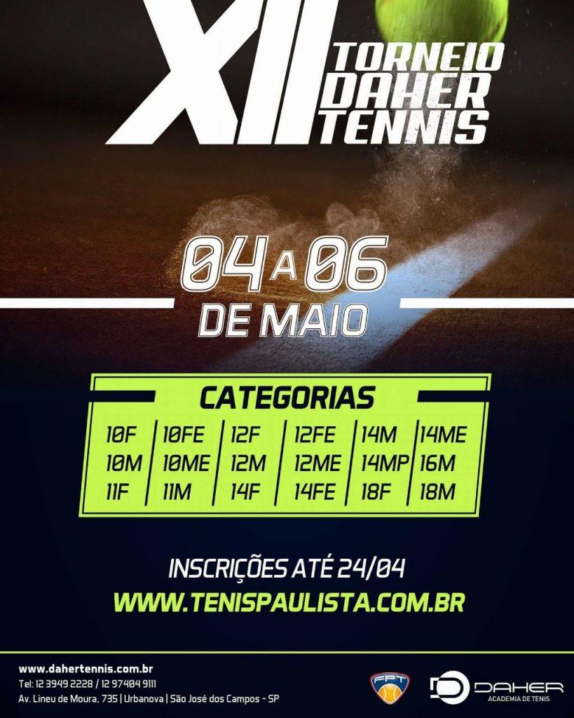 XII Torneio Daher Tennis