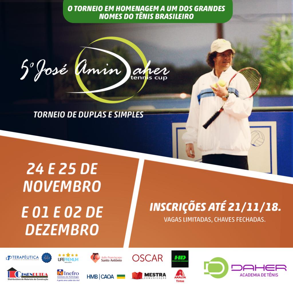 5° José Amin Daher Tennis Cup